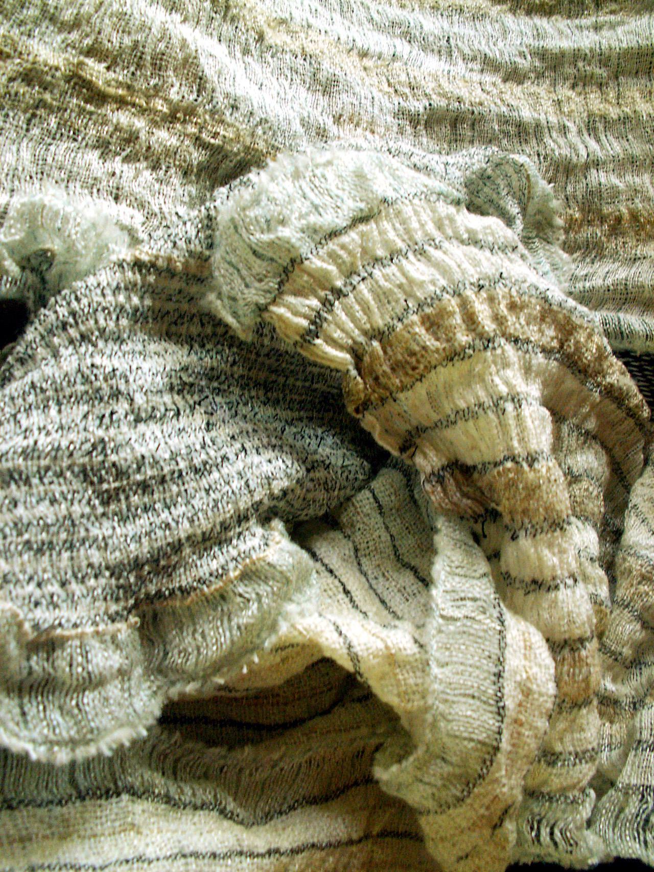 ufarvede tørklæder