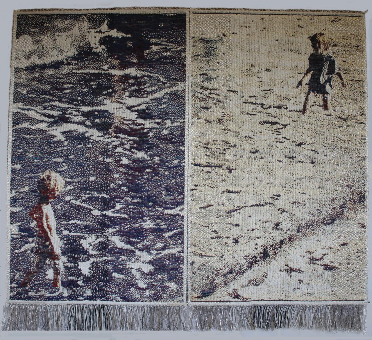 """Dette tæppe kan ses på udstillingen """"Dansk Gobelinkunst"""", hvor jeg er inviteret med som gæst"""